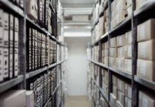A storage room to keep personal data secure